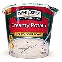 Bear Creek Creamy Potato Soup Bowl (Pack of 8) 1.9 oz Singles