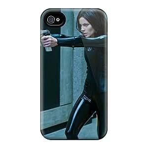 New USn9087XBaZ Kate Beckinsale In Underworld Awakening Skin Case Cover Shatterproof Case For Iphone 4/4s