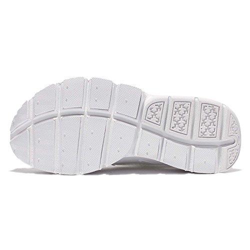 Formateurs Les Sock BR Dart Femme Nike Bianco WMNS Noir Xvqwz