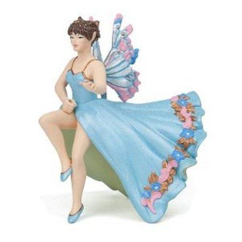 - Papo Blue Sidesaddle Riding Elf Toy Figure