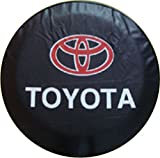 Best Toyota Tire Covers - Automelody ® 26'' 27'' Pvc Spare Tyre Cover Review