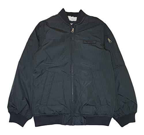 London Fog Boys' Toddler Flight Bomber Jacket, Black, 3T