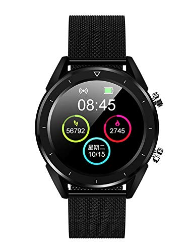 OPTA RSB-120 Thisbe Bluetooth ECG PPG Fitness Watch| Blood Pressure Multi-Sport Mode| Heart Rate | Waterproof |1.54 inch Color Screen Fitness Tracker for All Android/iOS