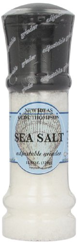 021248100864 - Olde Thompson Sea Salt, 11.5-Ounce Grinders (Pack of 2) carousel main 0