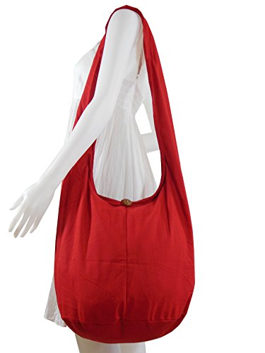 NaLuck - Bolso cruzados para mujer Red