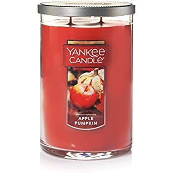 Yankee Candle Large 2-Wick Tumbler Candle, Apple Pumpkin