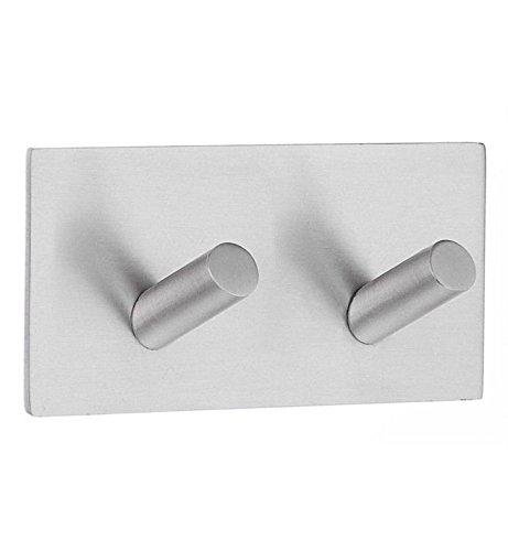 Smedbo Self-Adhesive Hook White Stainless Steel ()