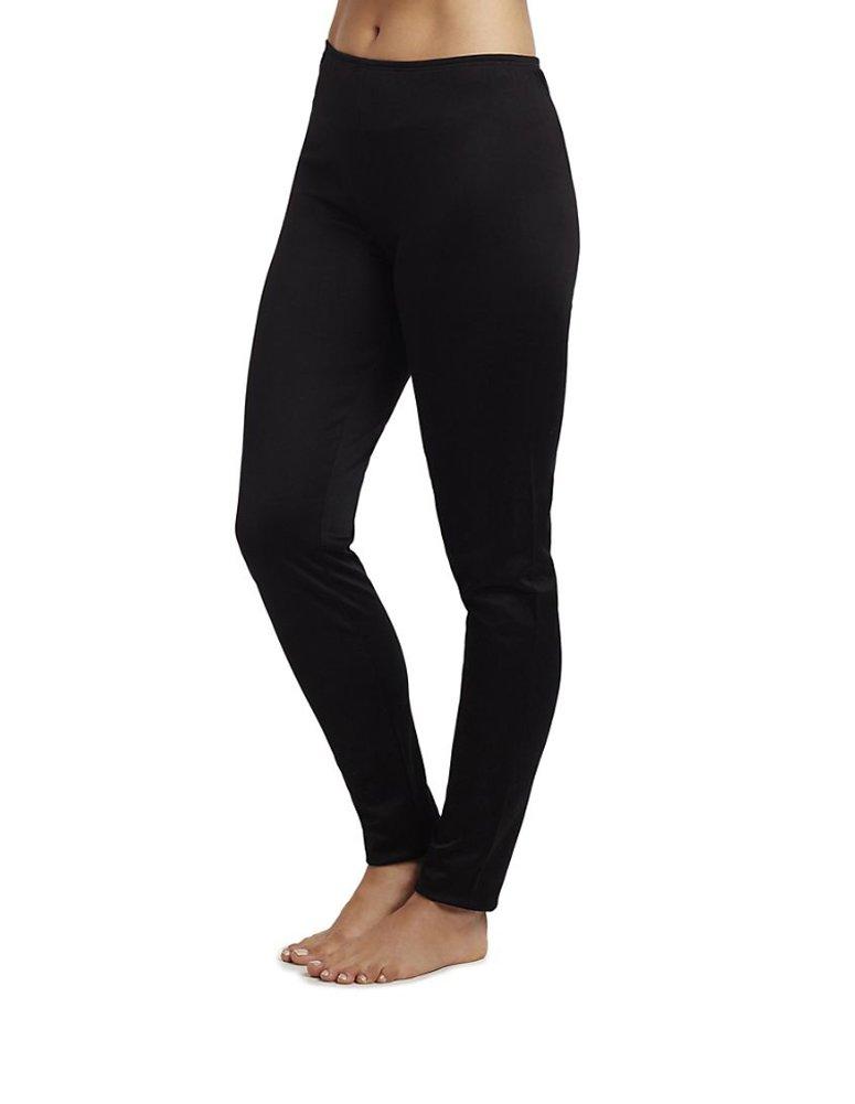 Cuddl Duds Women's Climatesmart Legging, Black, X-Small