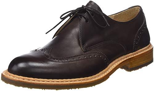 Mujer Zapatos De Skin Marrón chestnut Neosens Restored Chestnut Cordones Derby Para wn1E0