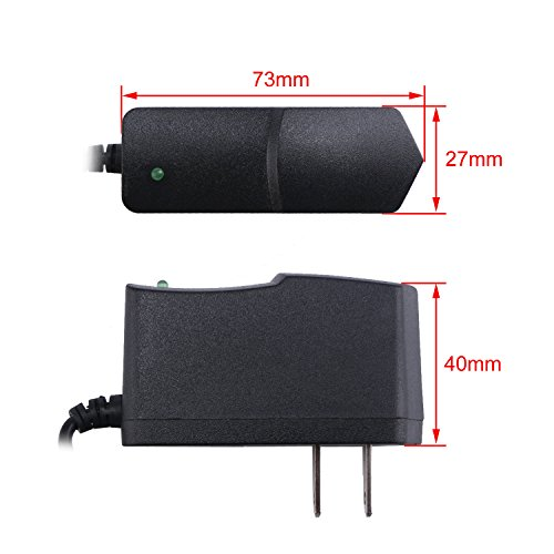DROK 091038 9V 1A Power Adapter 1000MA Tablet PC Switching Power Supply Regulator 110V 220V AC Input USA Plug for ADSL Router Devices by DROK (Image #4)
