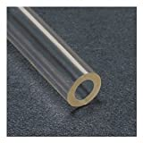 Tygon Non-DEHP Laboratory, Food & Beverage and Vacuum Plastic Tubing, Clear, 1'' ID x 1-1/4'' OD, 50 feet Length