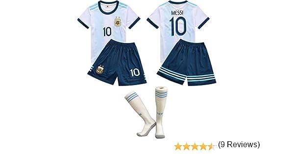 Copa del Mundo de Fútbol FFF/Inicio Argentina Messi Jersey ...