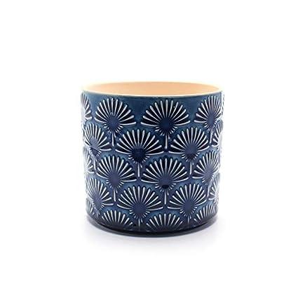 Amazon.com: Flor creativa de cerámica con diseño de diente ...