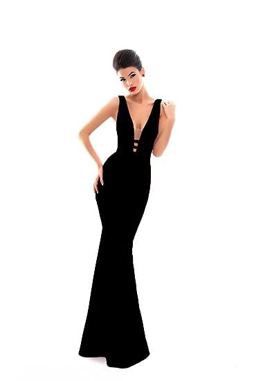 Tarik Ediz 50336 Black Dress Long Quinceanera Homecoming Wedding For