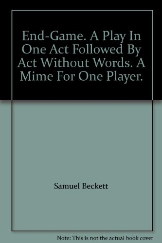 power play in samuel becketts endgame essay Samuel beckett the endgame pdf a play in one act by samuel we promiseessays and criticism on samuel beckett samuel beckett endgame plot samuel.