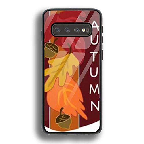 (Case Slim Shockproof Luxury Fashion Soft TPU Applique Garden Flags Protective Case for Samsung Galaxy S10)