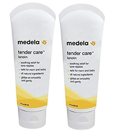 Medela Tender Care Lanolin Tube, 2 ounce (2 Pack)