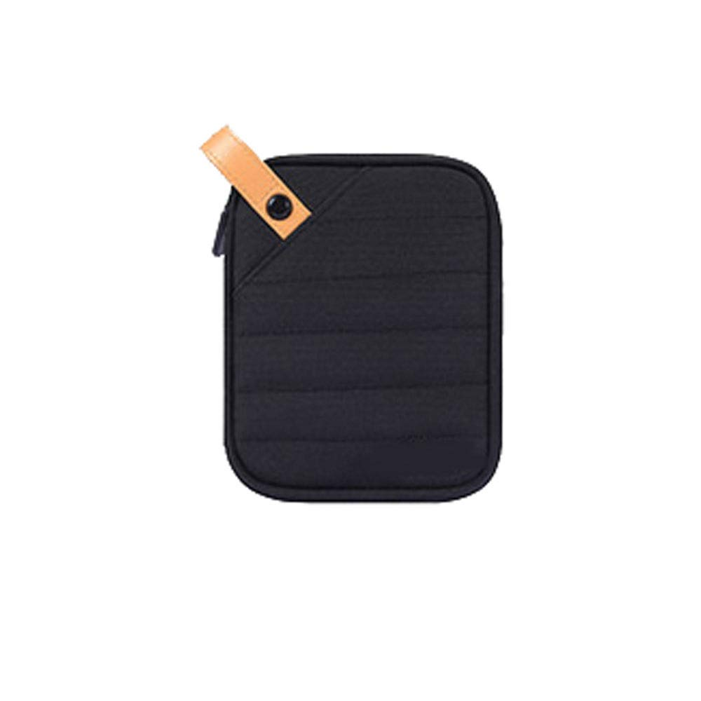 Kaiyitong Electronic Organizer,Accessories Organizer,Cable Organizer, Storage Bag for Hard Disk Large-Capacity Accessories, Finishing Package, sub-Package is not Afraid of Chaos, Anti-Wrinkle,Black d by Kaiyitong (Image #1)