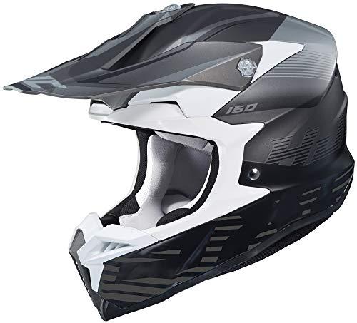 HJC i50 Helmet - Fury (XX-Large) (Black/Grey)