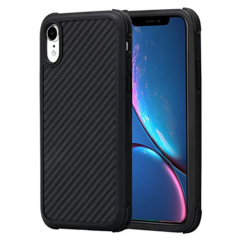 iPhone XR Case, 6.1 Inch PITAKA Magcase Pro Military Protective Case Strongest Super Durable Resilient Shock Absorption Rugged Armor case with Slim and Light Design for iPhone XR (6.1 Inch)