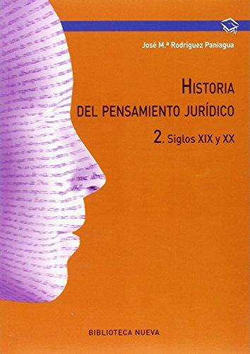 Descargar Libro Historia Del Pensamiento Jurídico 2 Jose Maria Rodriguez Paniagua