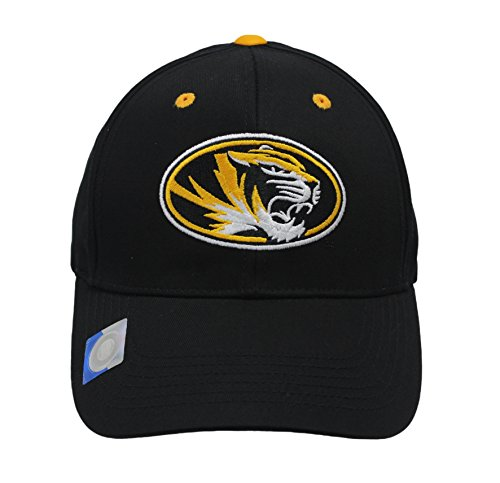 Captivating Headgear Men's Champ Fashion Missouri Univ. Tigers Embroidered - Embroidered Tiger Visor