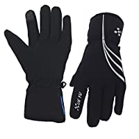 Waterproof Winter Gloves for Men and Women, Windproof Touchscreen Thermal Warm Gloves Mountain Made Outdoor Gloves for Running, Cycling