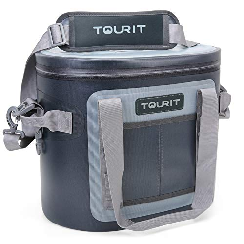 TOURIT Soft Cooler 20 Cans Leak-Proof Soft Pack Cooler Bag Waterproof Insulated Soft Sided Coolers Bag with Cooler for Hiking, Camping, Sports, Picnics, Sea Fishing, Road Beach (Best Extreme Max Can Openers)