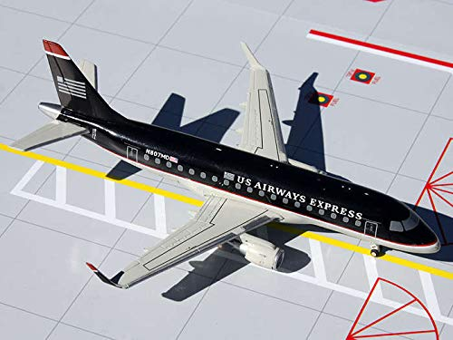 Gemini Jets US Airways Express Dark Blue ERJ-170 Airplane Replica, 1:200 Scale