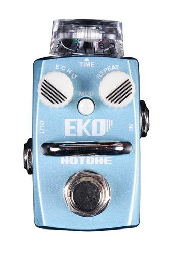 Hotone Skyline Series EKO Compact Delay/Echo Guitar Effects Pedal by Hotone