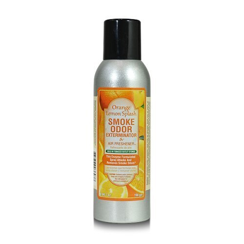 Smoke Odor Exterminator AX-AY-ABHI-27443 7 Oz Orange Lemon Splash (Best Spray For Smoke Smell)