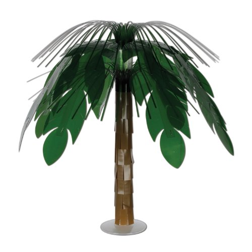 Jungle Palm Cascade Centerpiece Party Accessory (1 count) (1/Pkg) ()