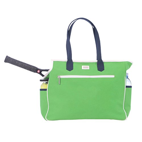 Ame & Lulu Kensington Court Bag (Green/Navy) by Ame & Lulu