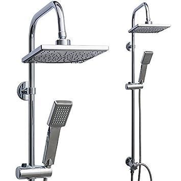 rapid teck regendusche set brause handbrause regendusche duschset duscharmatur badmbel - Regendusche Set