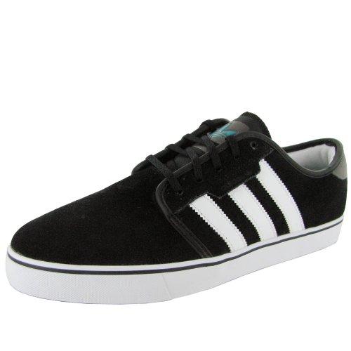 (アディダス) Adidas Skate Seeley (black1 / runninwhite/college aqua) スケートシーリー(black1/ runninwhite/カレッジアクア)