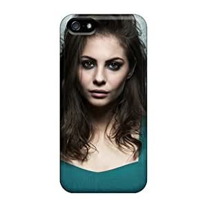 Tpu MeSusges Shockproof Scratcheproof Willa Holland Hard Case Cover For Iphone 5/5s