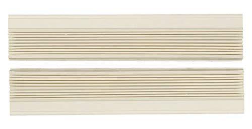 Just4Repair 1 Pair Window Air Conditioner Side Curtains Screen Accordion L&R (AC-6100-73)