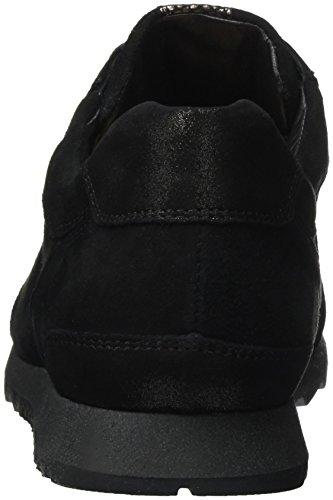H Hassia Mujer para Schwarz Zapatillas Bronce Barcelona Weite Negro AUwqUEF