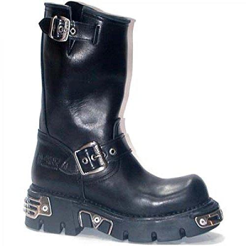 New Rock Boots M.212-c4 Urban Mens Stivali Da Uomo Neri
