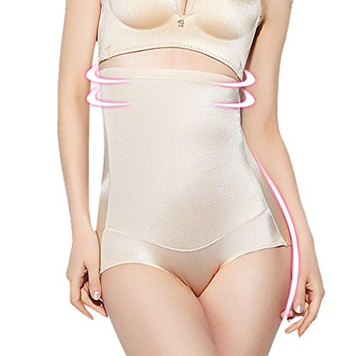 Ysabeloom High Waist Briefs for Women Panties Butt Lifter Shapewear Tummy Control Seamless Underwear (Beige(Smooth), XX-Large) (Waist Hi Smooth Briefs)