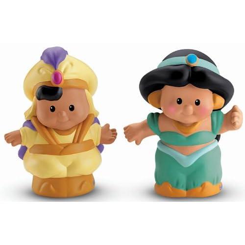 Fisher Price Little People Disney Princess Jasmine et Aladdin