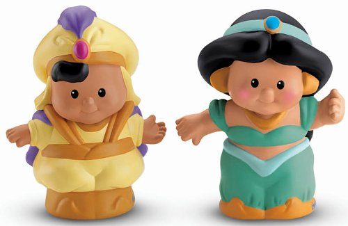 Fisher-Price Little People Disney's Aladdin and Jasmine ()