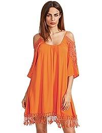 Amazon.com: Orange - Dresses / Clothing: Clothing, Shoes & Jewelry
