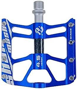 Bike Pedals Ultra Light  Lightweight Carbon Fiber Platform Titanium Axle 172G