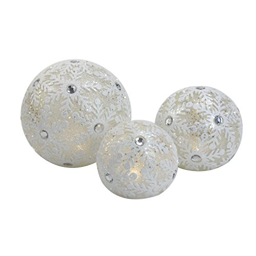 Outdoor Lighted Snowballs in US - 3