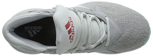 Adidas Street Jam II, Zapatillas de Baloncesto para Hombre Blanco (Brgrcl / Rojray / Verhie)