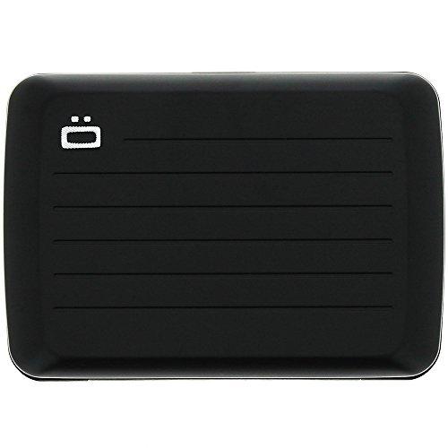 Ogon RFID Stockholm V2.0 Aluminum Wallet Card Case Waterproof, Black (Ogon Rfid Safe Aluminium Wallet Black V2)