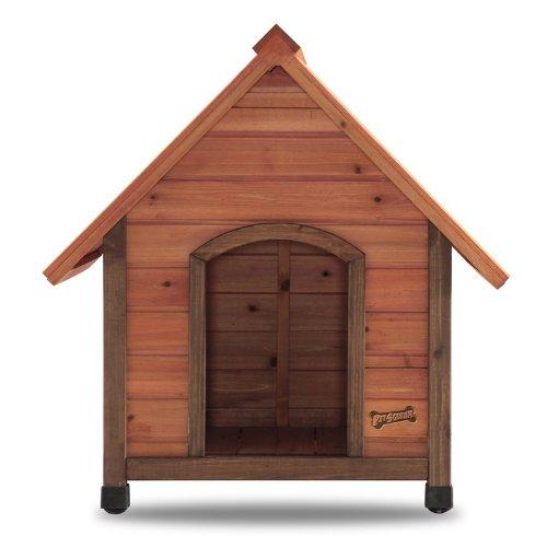 Pet Squeak Arf Frame Natural Dog House, Small