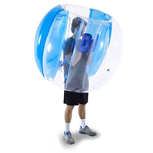 upc 023877918131 product image for Holleyweb Inflatable 4' Wearable Buddy Bumper Zorb Balls Heavy Duty Durable PVC Viny Bubble Soccer Outdoor Game (Only one,Blue)