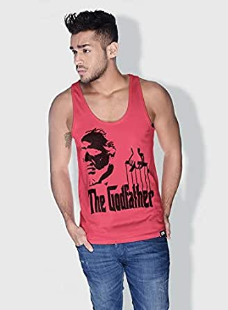 Creo The Godfather Movie Posters Tanks Tops For Men - S, Pink
